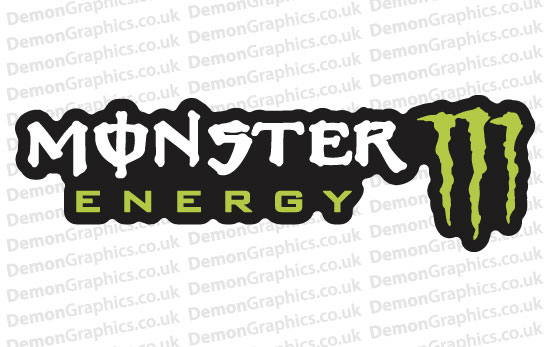 Bike Decal (Pair of) Monster 4