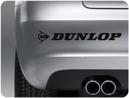Dunlop tyres sticker (pair)