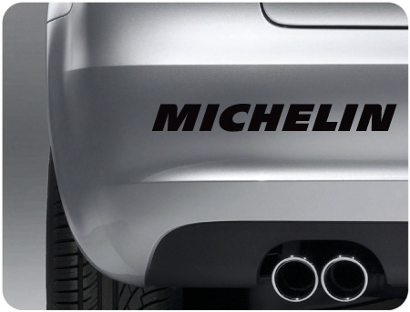 michelin sticker (pair)