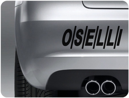 Oselli sticker (pair)