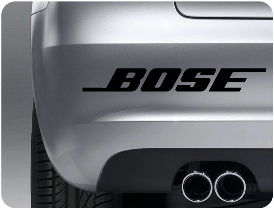 Bose sticker (pair)