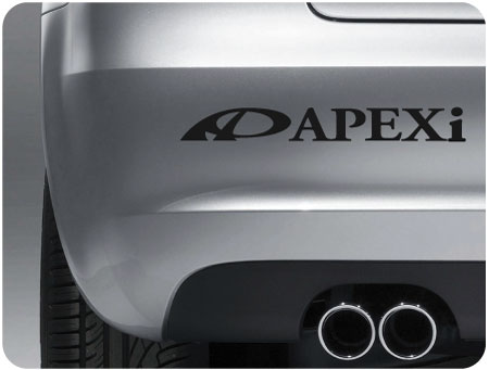 apexi stickers (pair)