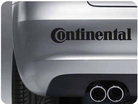 Continental Sticker (Pair)