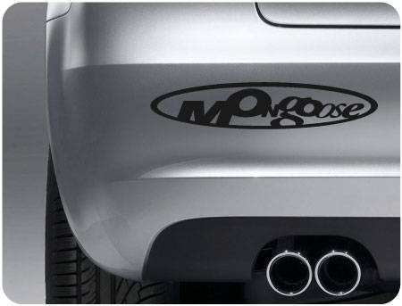mongoose sticker (pair)
