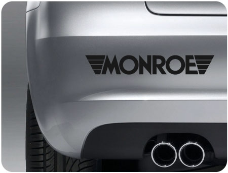 monroe sticker (pair)