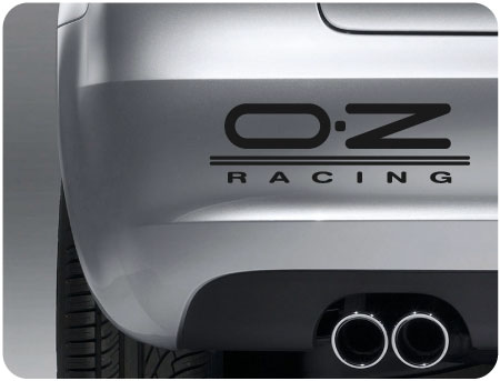 OZ Racing Sticker (Pair)