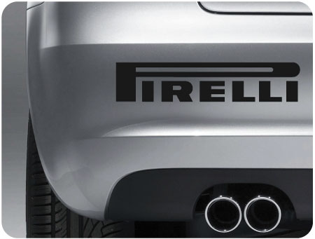 Pirelli Sticker (Pair)