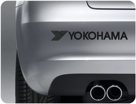 Yokohama sticker (pair)