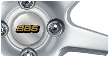 Wheel Centre Badges - BBS (set of 4)