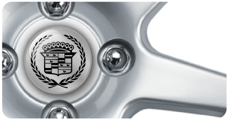 Wheel Centre Badges - Cadillac (set of 4)
