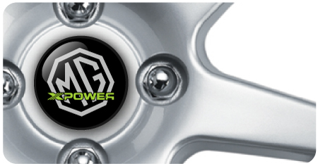 Wheel Centre Badges - MG Xpower (set of 4)