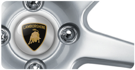 Wheel Centre Badges - Lamborghini (set of 4)