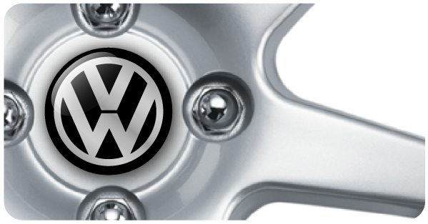 Wheel Centre Badges - VW (set of 4)